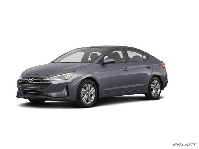 2019 Hyundai Elantra Sport Dct Intense Blue 4dr Car A Hyundai