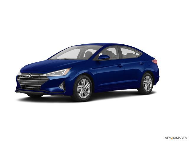 New 2020 Hyundai Elantra Sel Ivt