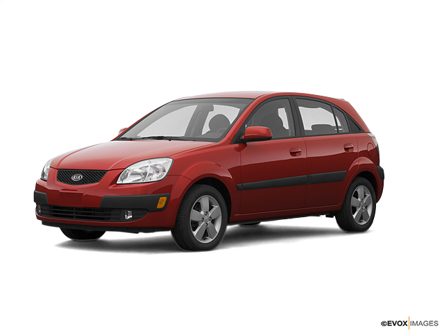 2007 Kia Rio 5-door Vehicle Photo in Danville, KY 40422