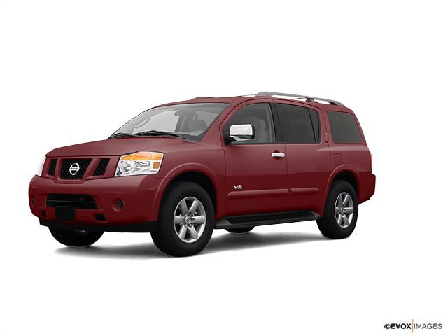 2008 Nissan Armada Vehicle Photo in Midland, TX 79703