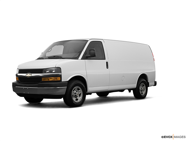2008 Chevrolet Express Cargo Van Vehicle Photo in Owensboro, KY 42303