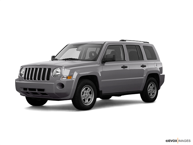 Colorado springs bright silver metallic 2008 jeep patriot for Jeep dealer colorado springs motor city