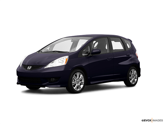 Used Car 2009 Blackberry Pearl Honda Fit Sport For Sale In