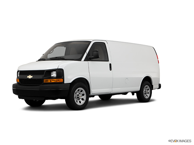 2011 Chevrolet Express Cargo Van Vehicle Photo in Hudson, MA 01749