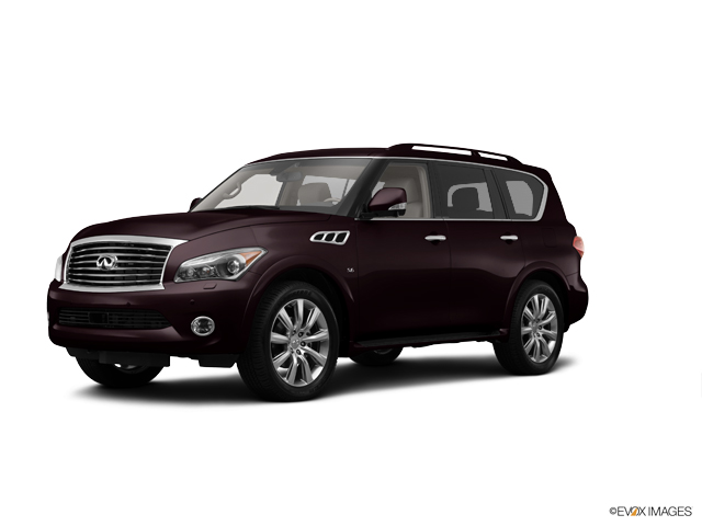 A 2014 INFINITI QX80 in Cincinnati OH dealer INFINITI of Cincinnati