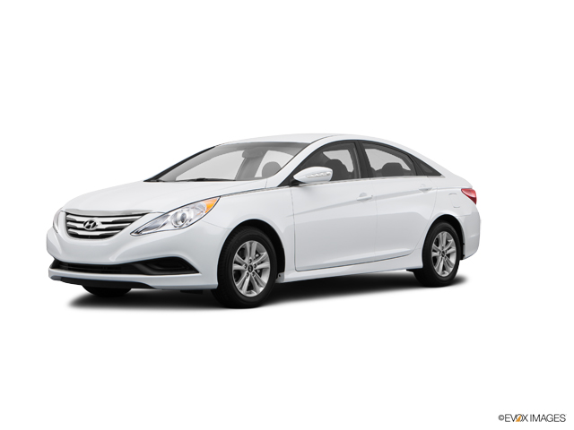 Lucedale Pearl White 2014 Hyundai Sonata Used Car For Sale 14h172t