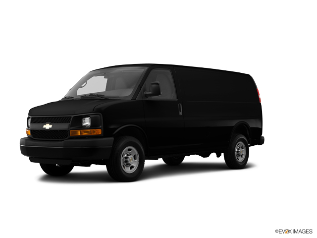2014 Chevrolet Express Cargo Van Vehicle Photo in Vincennes, IN 47591
