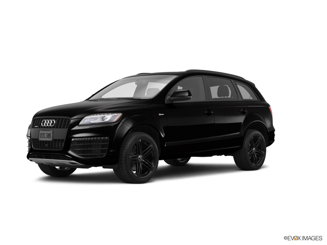 2015 Black Audi Q7 for sale Near Houston - WA1LGAFE4FD031023