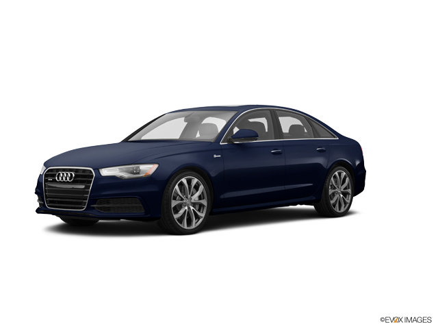 Used 2015 Audi A6 Moonlight Blue Metallic Car For Sale