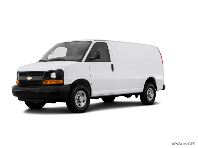 2015 Chevrolet Express Cargo Van Vehicle Photo in Janesville, WI 53545