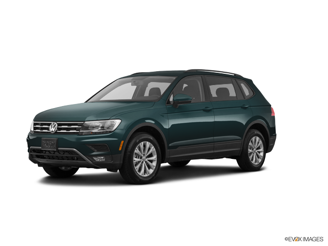Tiguan S Dark Moss Green Metallic