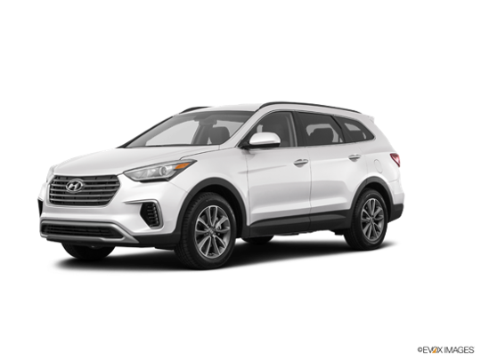 2018 Hyundai Santa Fe in Monaco White