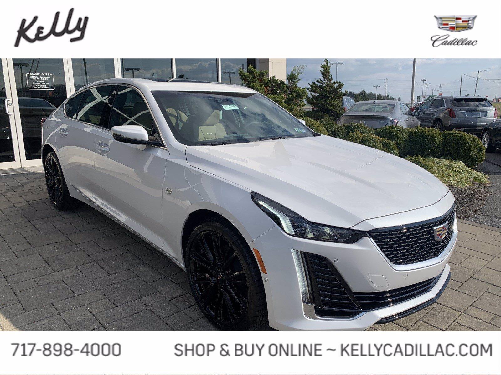 used 2021 Cadillac CT5 car, priced at $58,755