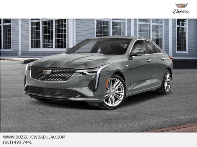 used 2021 Cadillac CT4 car, priced at $38,020